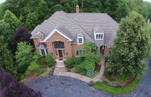 860 West Hill Drive home exterior from above