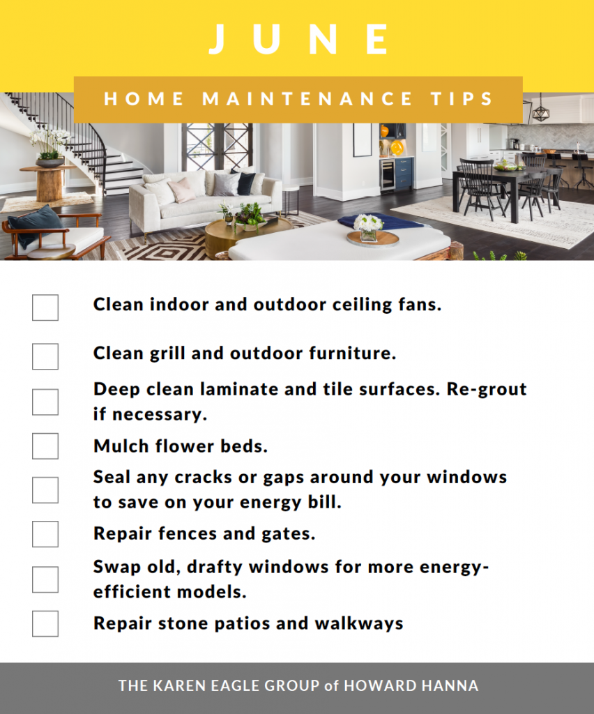 June Home maintenance