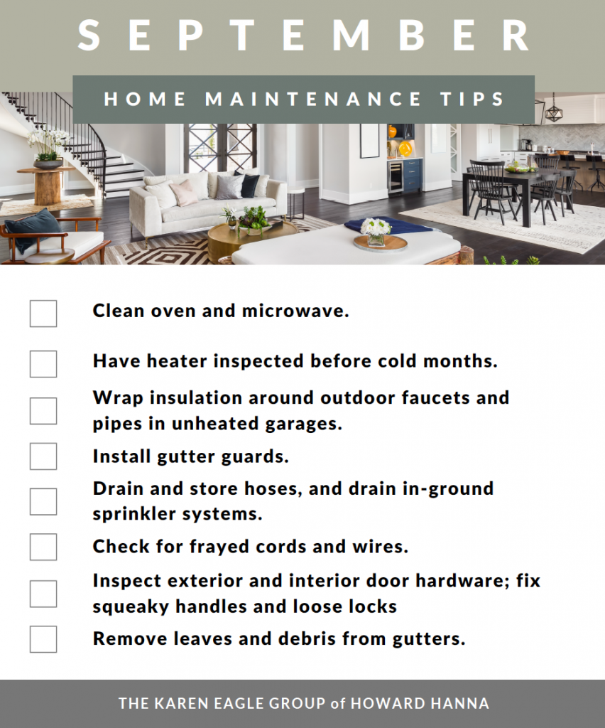 September home maintenance