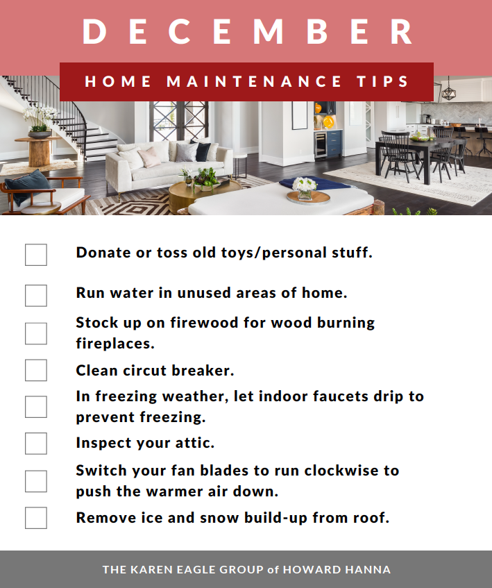 December home maintenance tips