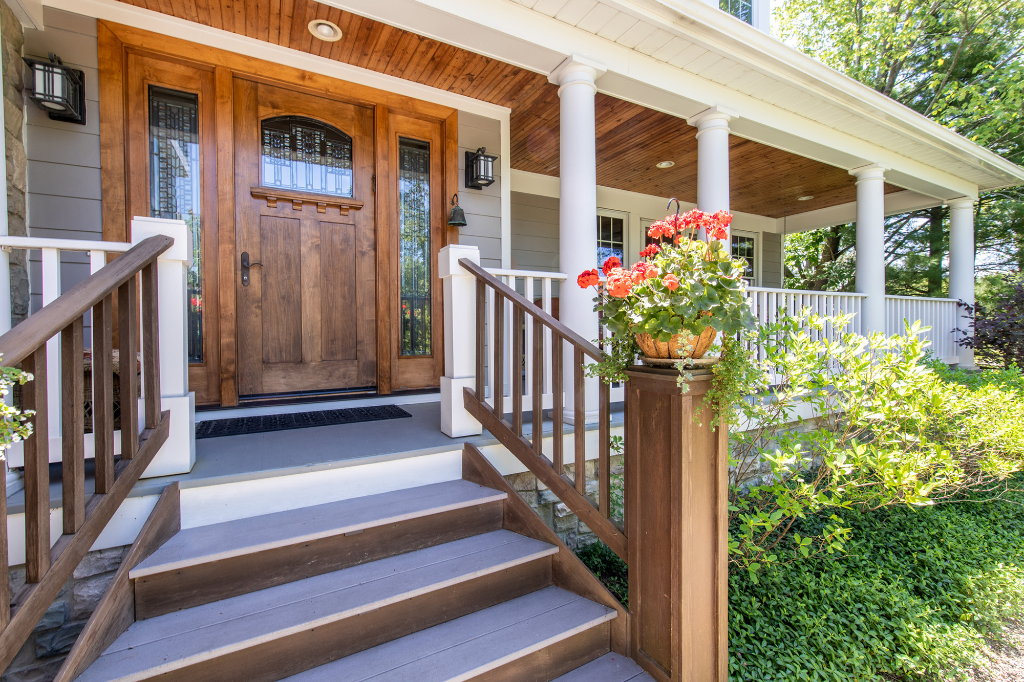 4 Timber front porch
